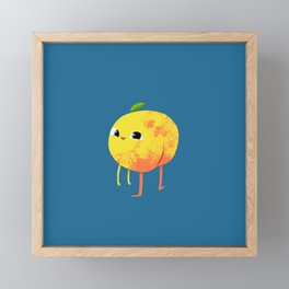 Peachy Cheeks Framed Mini Art Print