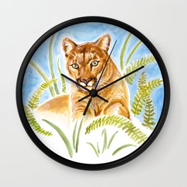 Reise Cougar Wall Clock