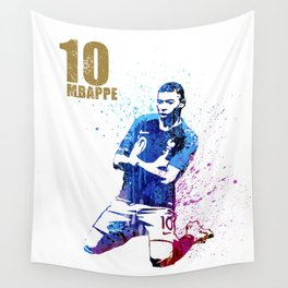 Sports art _ France world cup football 2018 Wall Tapestry
