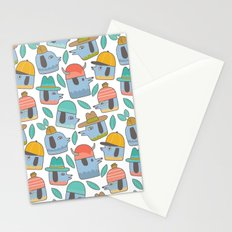 Pattern Project #38 / Dogs With Hats Stationery Cards