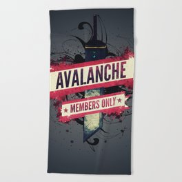 Final Fantasy VII - Avalanche Member's Only Beach Towel