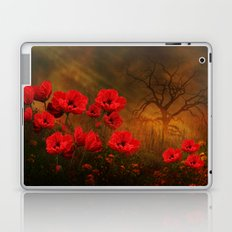 Poppy Love Laptop & iPad Skin
