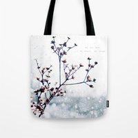 karma Tote Bags featuring Karma by Jenndalyn