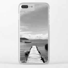 Lake Titicaca, Bolivia Clear iPhone Case