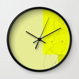 Pura Vida Wall Clock