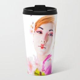Geisha Portrait Travel Mug