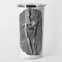 Fossil. Human Skeleton. Found in Guadaloupe Travel Mug