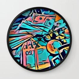 Hustle & Flow Wall Clock