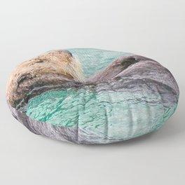 Belly Rub Digital Art Floor Pillow