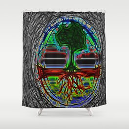 Life Grows Shower Curtain
