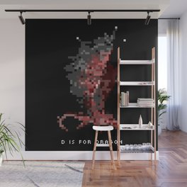D is for Dragon Wall Mural