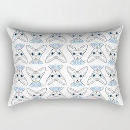 sphynx love Rectangular Pillow