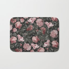 Vintage roses Bath Mat