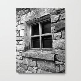 'Window In A Window' Ireland Metal Print
