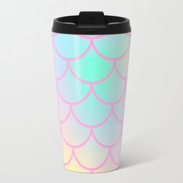 Marshmallow Mermaid Travel Mug