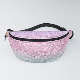 Unicorn Girls Glitter #7a #shiny #pastel #decor #art #society6 Fanny Pack