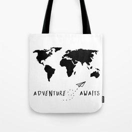 Adventure Map II Tote Bag