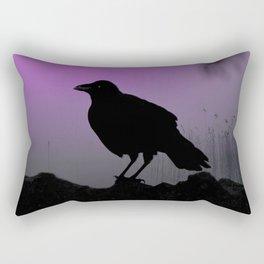 Hazed Purple Rectangular Pillow
