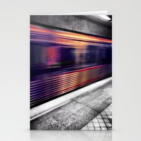 subway Stationery Cards featuring Subway by Yancey Wells