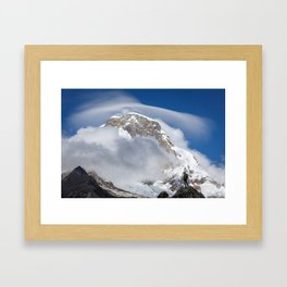 Take a deep breath Framed Art Print