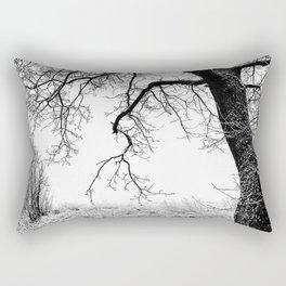 Edge Of Nothing Rectangular Pillow