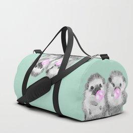 Playful Twins Hedgehog Duffle Bag