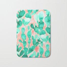 Paddle Cactus Blush Bath Mat
