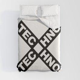 Techno Duvet Cover
