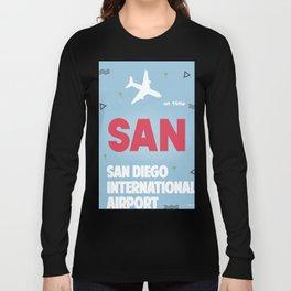 San Diego California Long Sleeve T-shirt