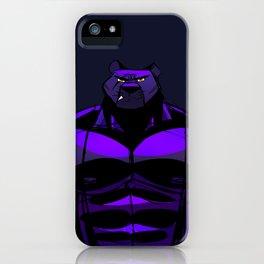 Killer Panther Wrestler! iPhone Case