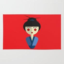 Japanese Doll Rug
