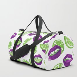 Don't Kill My Vibe (Lime) Duffle Bag
