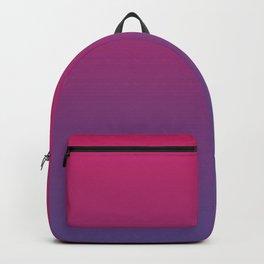 Pink Peacock Ultra Violet Gradient Pattern Backpack