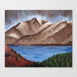 Serene Mountains Canvas Print