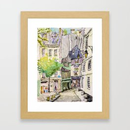 Odette, Paris Framed Art Print