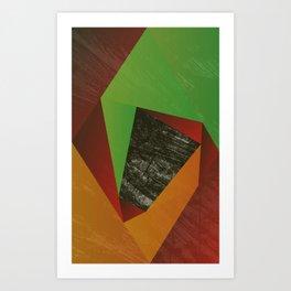Twirl-220116 Art Print