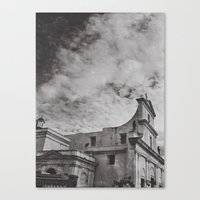 gotham Canvas Prints featuring Gotham by Gerardo Vélez +koifish&astronauts