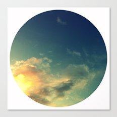 Toward A Secret Sky Canvas Print