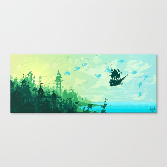 Hopes for Travel Canvas Print