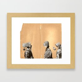 middle child Framed Art Print