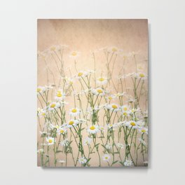 Layered Daisy Chains Metal Print