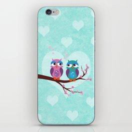 Love owls iPhone Skin