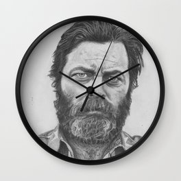 Nick Offerman Wall Clock