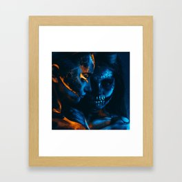 Look Like Zombie Girls, UV Colors Framed Art Print