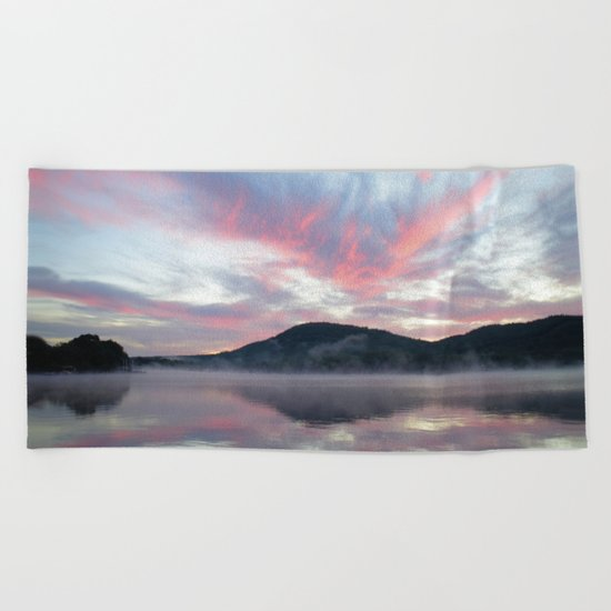 Silent Witness at Sunrise Beach Towel