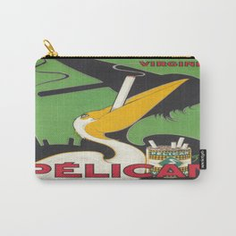 Vintage poster - Pelican Cigarettes Carry-All Pouch