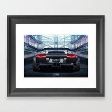Liberty Walk LB Performance Lamborghini Murcielago Framed Art Print