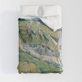Vincent van Gogh Cottages Comforters