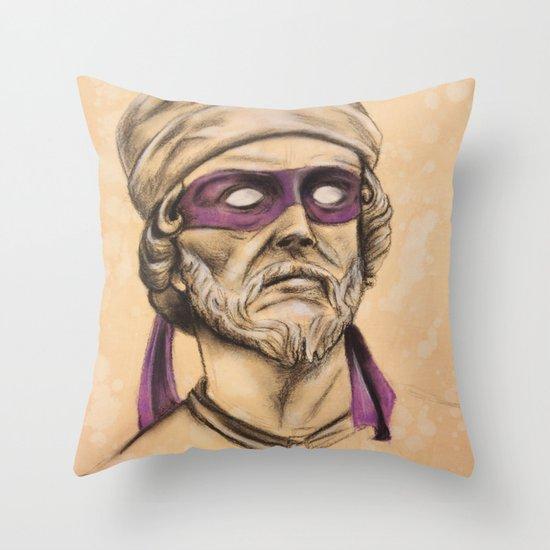 Donnie TMNT Throw Pillow