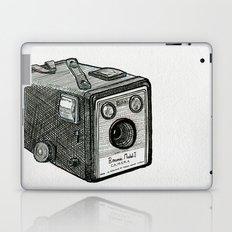 Kodak Box Brownie Camera Illustration Laptop & iPad Skin